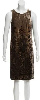 Etro Velvet Knee-Length Dress