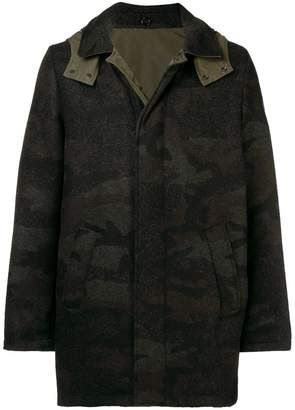 Woolrich reversible padded coat