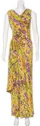 Christian Lacroix Sleeveless Maxi Dress