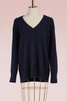 The Row Cashmere and Silk Cappi Top