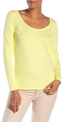 Tommy Bahama Indio Scoop Neck Long Sleeve Tee