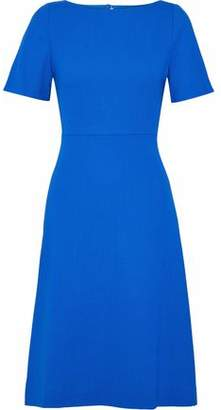Goat Virtue Flared Wool-Crepe Dresss