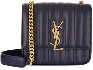 Saint Laurent Medium Vicky Matelasse Shoulder Bag