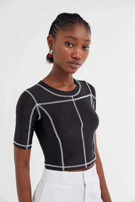 Out From Under Roux Seamed Cropped Top