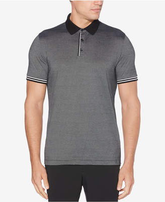 Perry Ellis Men Classic Fit Striped Polo