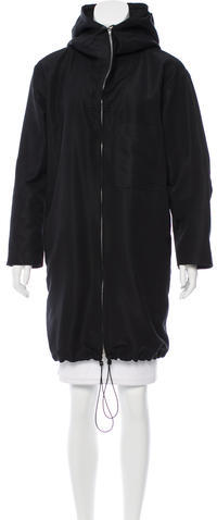 CelineCéline Oversize Hooded Coat