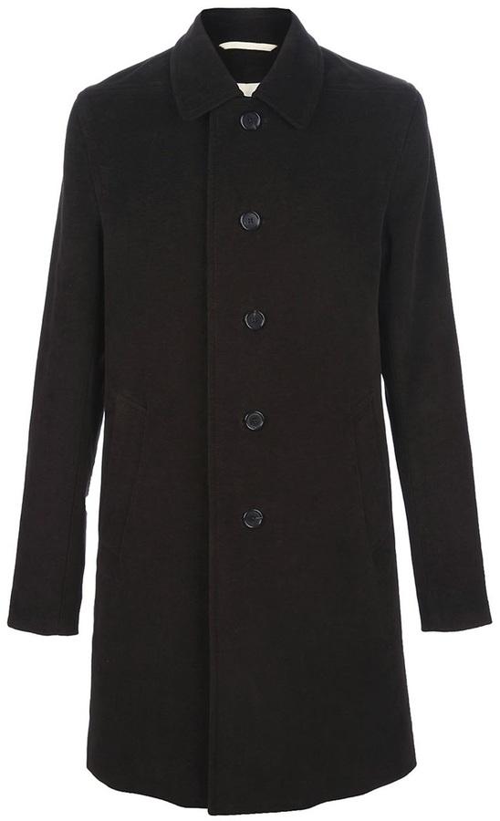 Ann Demeulemeester Cotton overcoat