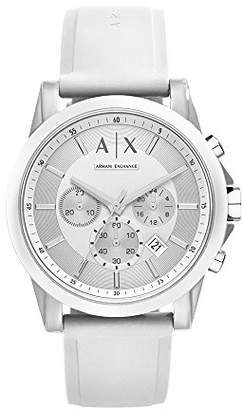 Armani Exchange Men's AX1325 Silicone Watch