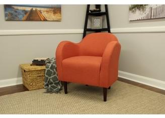 Newport Julian Mid Century Arm Chair - Mango