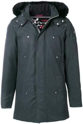 Moose Knuckles fox fur hooded coat