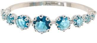 Jenny Packham Crystal Row Bangle Bracelet