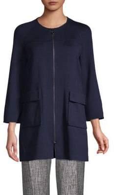 St. John Classic Full-Zip Jacket