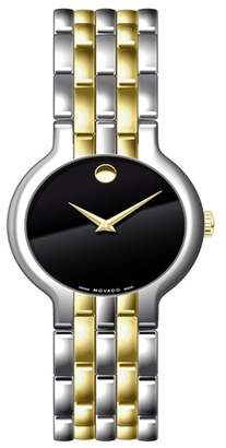 Movado Men's Swiss Quartz Two-Tone Bracelet Watch, 38mm