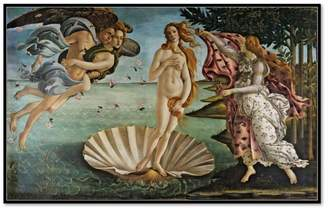 Sandro Museums.Co The Birth of Venus by Botticelli Art Print