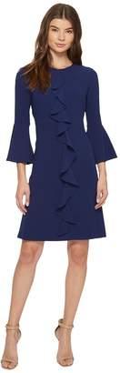 Christin Michaels Iris 3/4 Sleeve Keyhole Dress Women's Dress