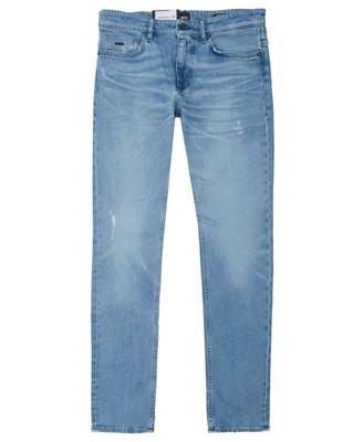 BOSS Casual Slim-fit Delaware Jeans Colour: Light Vintage Blue, Size: