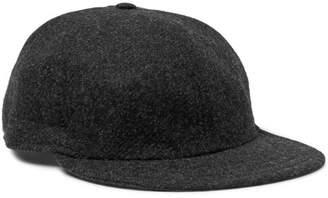 Borsalino Wool Baseball Cap - Men - Black