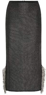 Roland Mouret Redford knit skirt