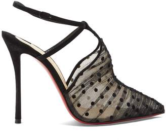 Christian Louboutin Acide 115 tulle pumps