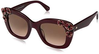 Kate Spade Womens Drystle/S Opal Burgundy/Brown/Pink Gradient One Size One Size