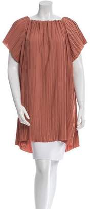 ADAM by Adam Lippes Pleated Off-The-Shoulder Tunic w/ Tags