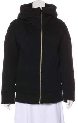 Helmut Lang Fur-Trimmed Jacket