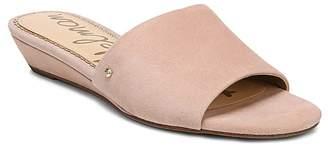 Sam Edelman Women's Liliana Suede Demi Wedge Slide Sandals
