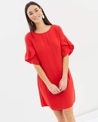 Dorothy Perkins Lace-Up Block Shift Dress