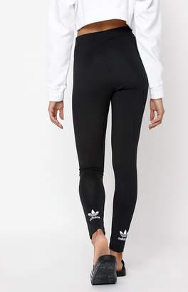adidas Adicolor Black Trefoil Leggings