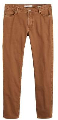 MANGO MAN Slim-fit colored Alex jeans