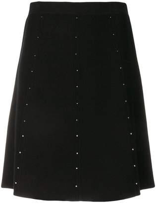Steffen Schraut embellished A-line mini skirt