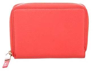 Tiffany & Co. Pebbled Leather Wallet