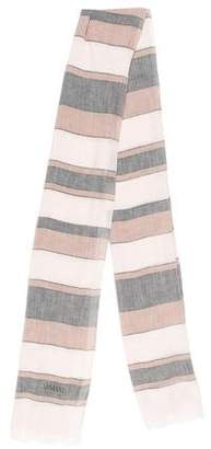 Armani Collezioni Woven Striped Shawl