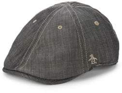 Original Penguin Chambray Newsboy Cap