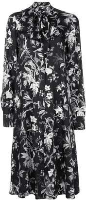 McQ floral print shirt dress