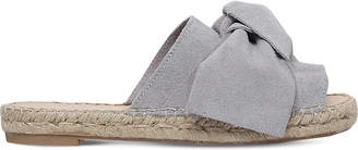 Carvela Kurry bow-detail suede sandals