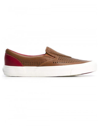 Vans Vans x Taka Hayashi 'Nomad LX' slip-on shoes $135 thestylecure.com