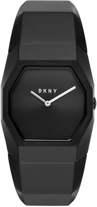 DKNY Women's Beekman Black Stainless Steel Bangle Bracelet Watch 32mm, Created for Macy's
