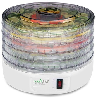 Nutrichef Electric Countertop Food Dehydrator Food Preserve