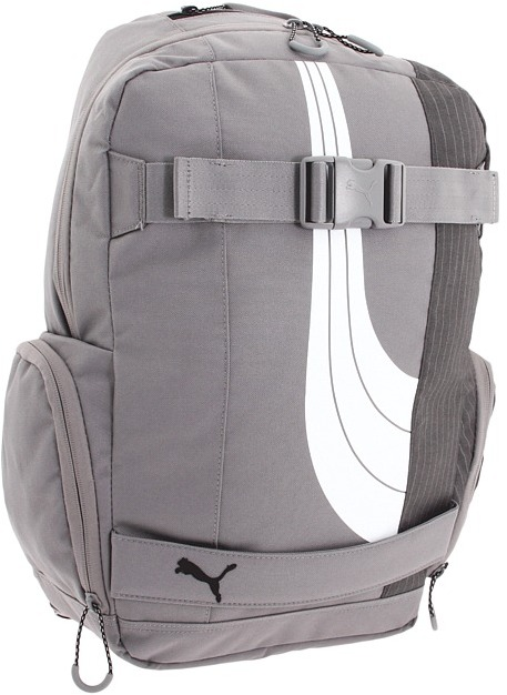 Puma Barricade Backpack (Steel Grey/Grey) - Bags and Luggage