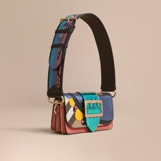 Burberry The Small Buckle Bag in House Check and Leather $2,495 thestylecure.com