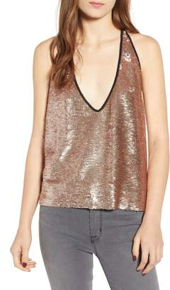 Bishop + Young Daniela Sequin Racerback Camisole