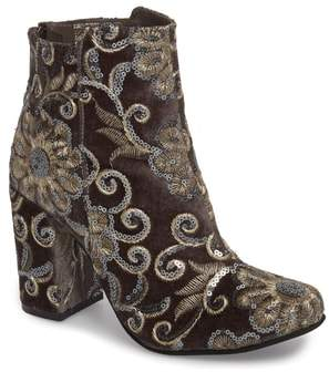 Naughty Monkey Sequin Embellished Bootie