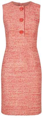 Paule Ka Tweed Shift Dress