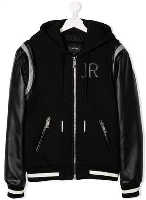 John Richmond Junior TEEN full-zipped bomber jacket