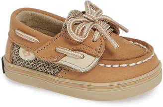 6740ecfaca4 Sperry Kids Bluefish Crib Jr. Boat Shoe