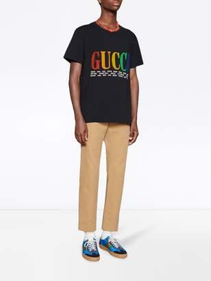 Gucci cities cotton t-shirt