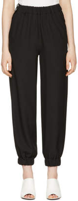 Maison Margiela Black Crepe Lounge Pants