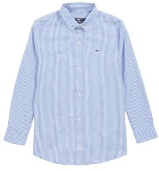 Vineyard Vines Mink Meadow Check Performance Sport Shirt