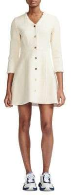 Maje Ryzer Cotton A-Line Dress